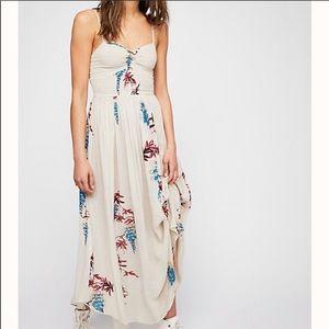 NWT Free People Beau Smocked Dress